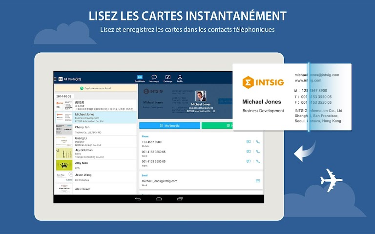 Screenshot 2 CamCard Lite - Business Card R
