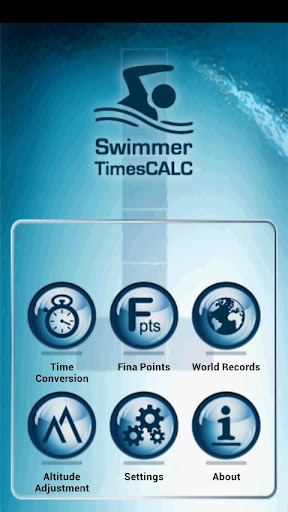 Swimmer Times Calc