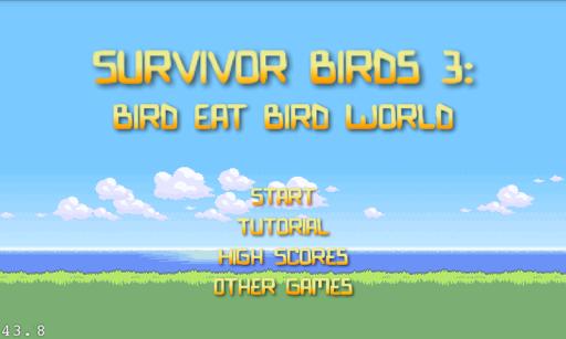Bird Eat Bird Feeding Frenzy