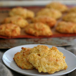 Cheddar Drop Biscuits - Low Carb and Gluten-Free.