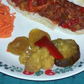 Grandmother's Mustard Pickles.