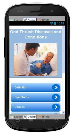 Oral Thrush Disease Symptoms