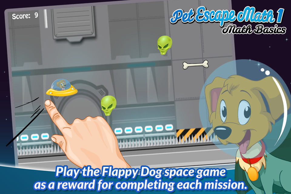 Pet Escape Math 1: Math Basics- screenshot