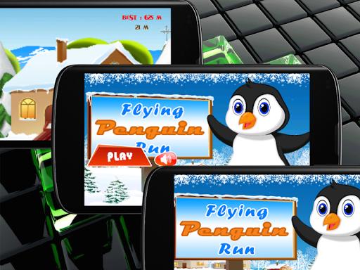 Flying Penguin Run