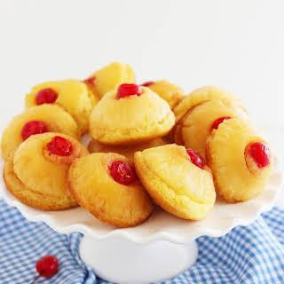 Mini Pineapple Upside Down Cakes.