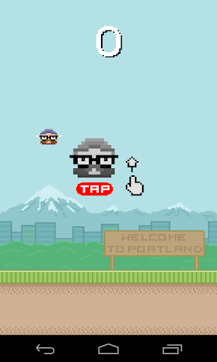 Flappy Hipster