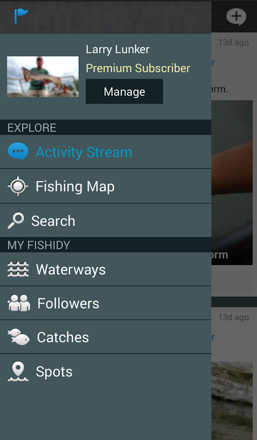 Fishidy - Fishing Maps & Guide - screenshot