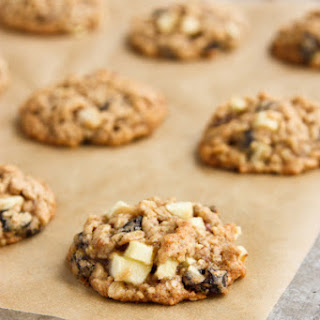 Oatmeal Cookies with Apples, Raisins, and Pecans