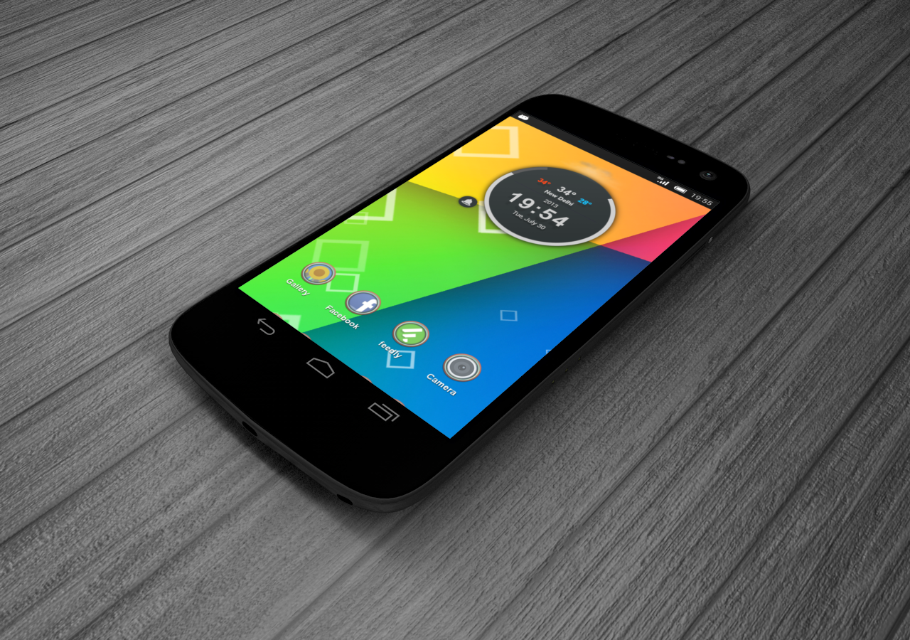 Jelly Bean 4.3 Parallax LWP - screenshot