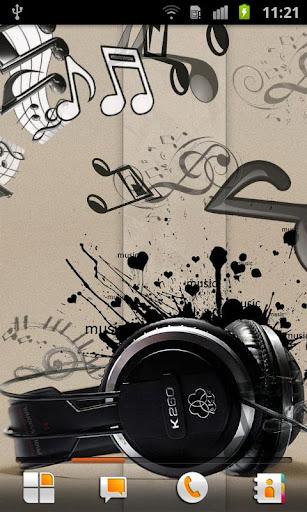 音樂 動態桌布