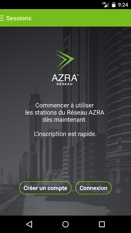 Azra Reseau- screenshot