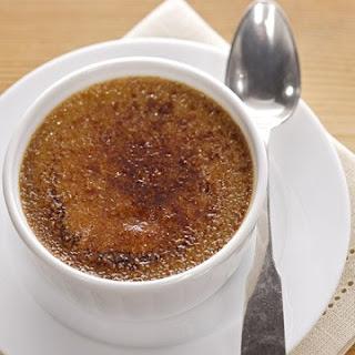 Espresso Creme Brulee.
