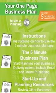 Google drive business plan