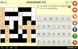 Screenshot of Word Jam