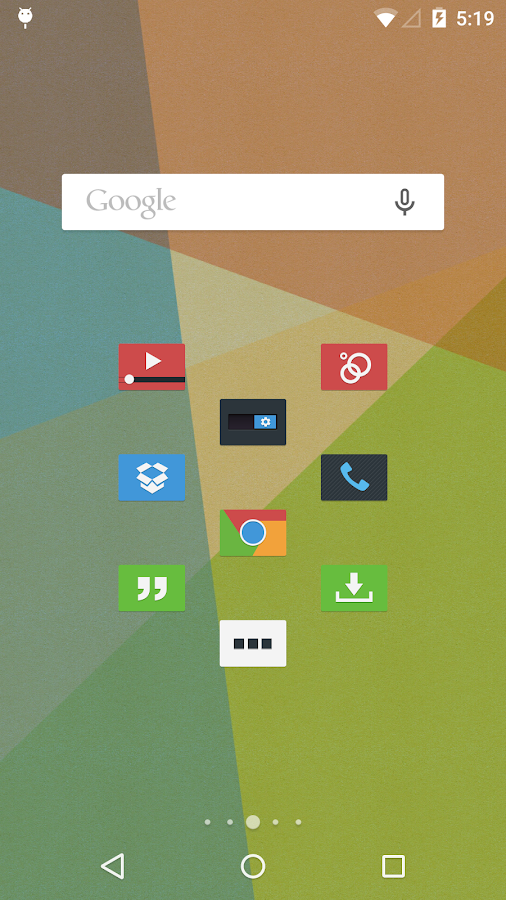 Tendere - Icon Pack - screenshot
