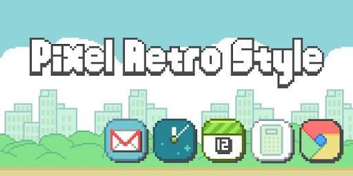 Pixel Retro Style Theme