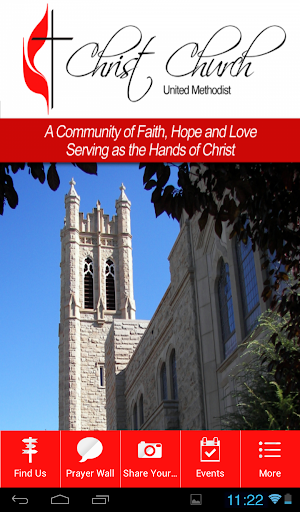 【免費生活App】Christ Church United Methodist-APP點子