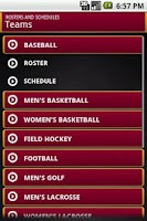 Screenshot of Oberlin College Athletics