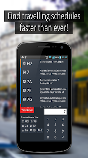 SmartCity Budapest Transport - screenshot thumbnail