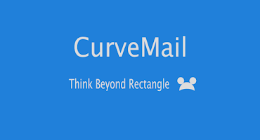 Screenshot of CurveMail