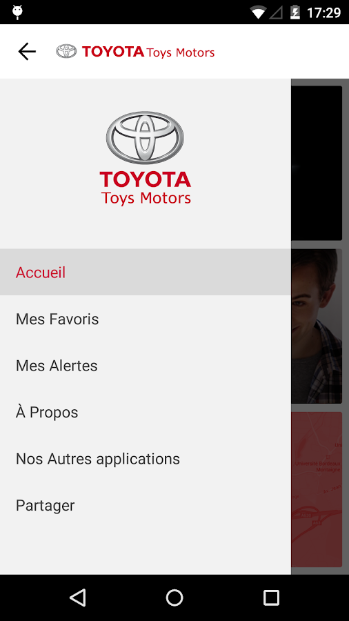 Toyota Toys Motors- screenshot