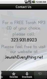 Torah Lectures- screenshot thumbnail
