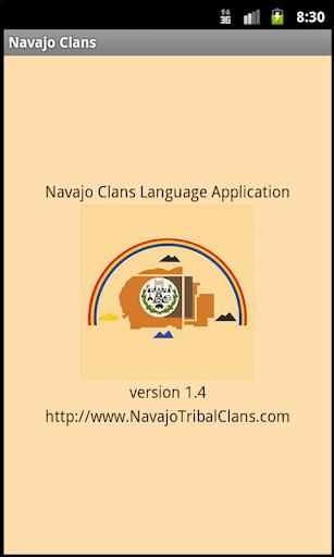 Navajo Clans: Native Language
