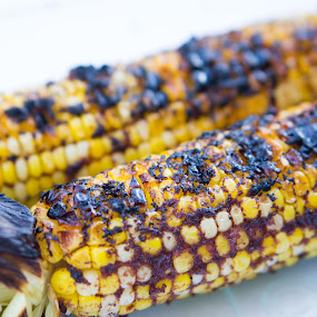 grill corn with satay sauce by Christopher Wu - Food & Drink Plated Food ( Food & Beverage, meal, Eat & Drink,  )