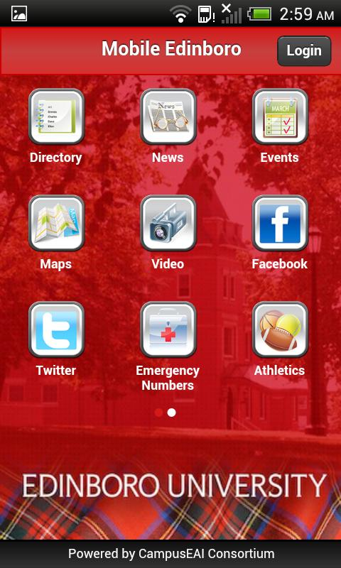 Mobile Edinboro - screenshot