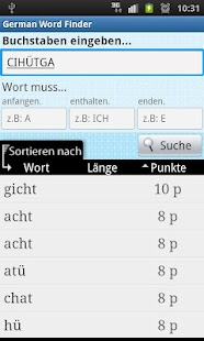 German Word Finder - screenshot thumbnail