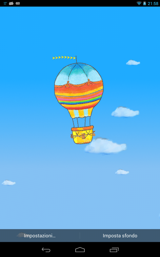 Hot Air Balloon Wallpaper Free- screenshot