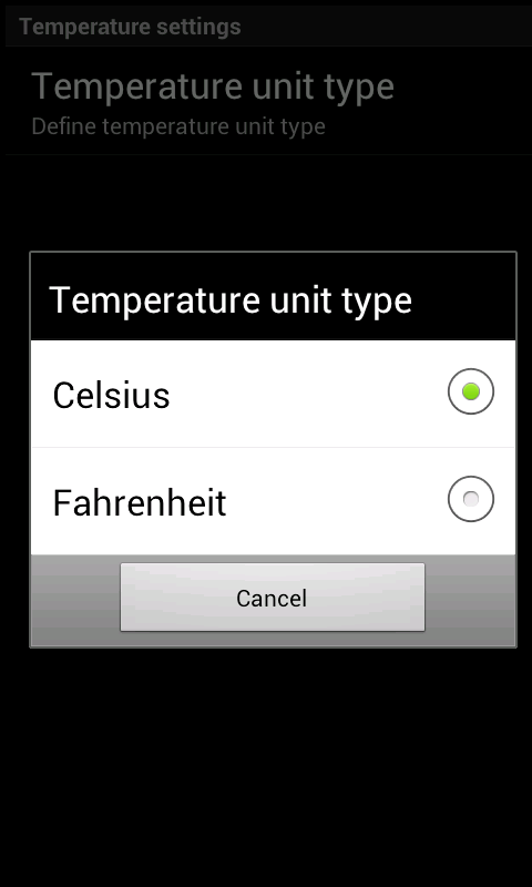 Thermometer Free - screenshot