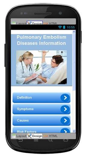 Pulmonary Embolism Information