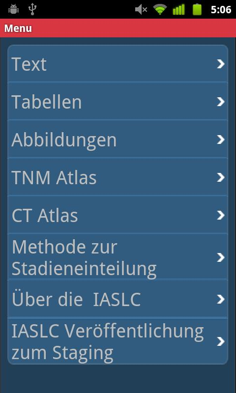 IASLC Staging Atlas - German - screenshot