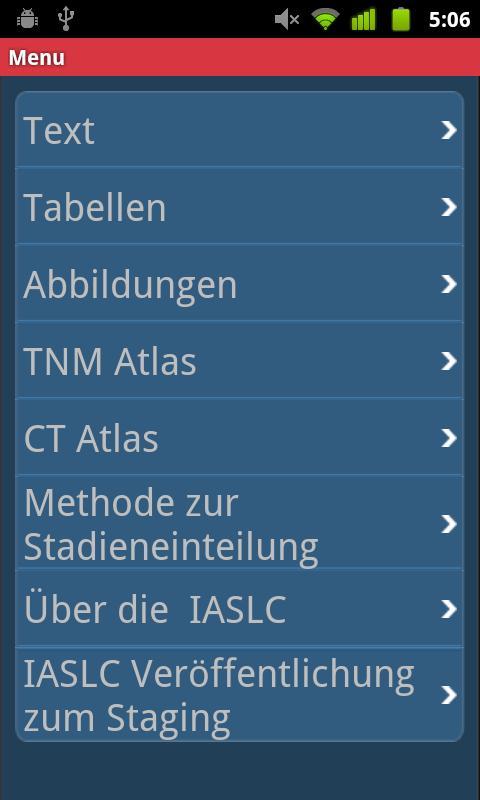 IASLC Staging Atlas - German - screenshot