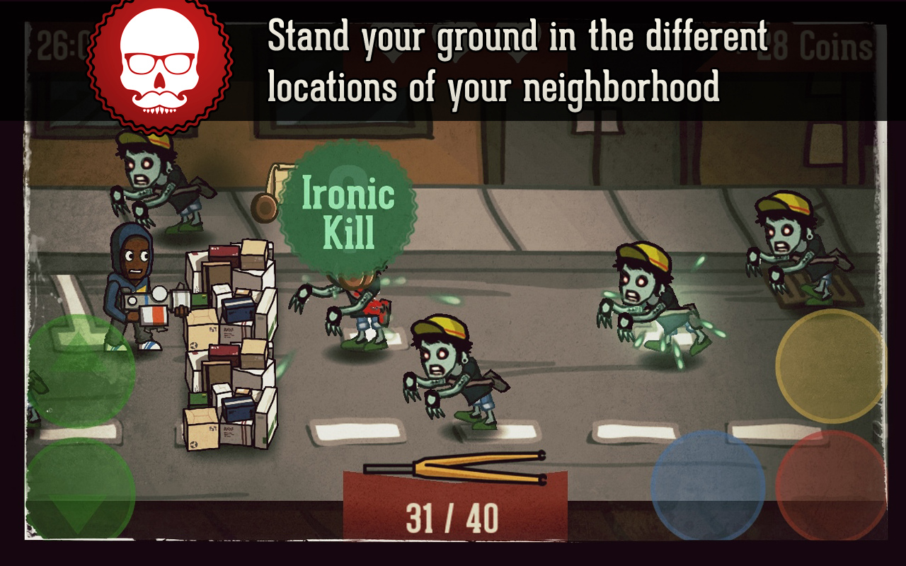 Hipster Zombies- screenshot