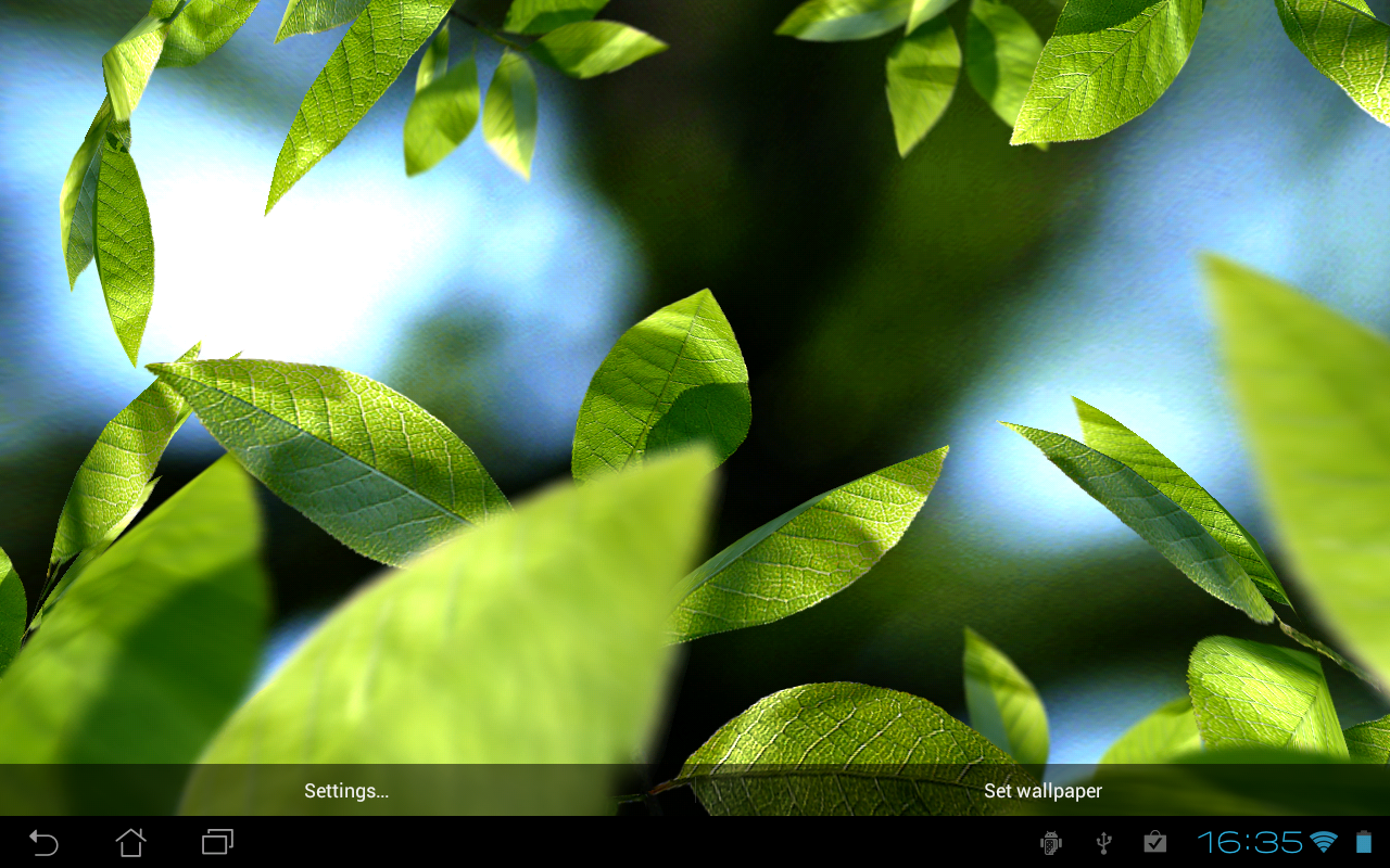 Fresh Leaves- screenshot