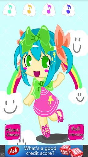 【免費休閒App】Chibi School Girl Dress up-APP點子