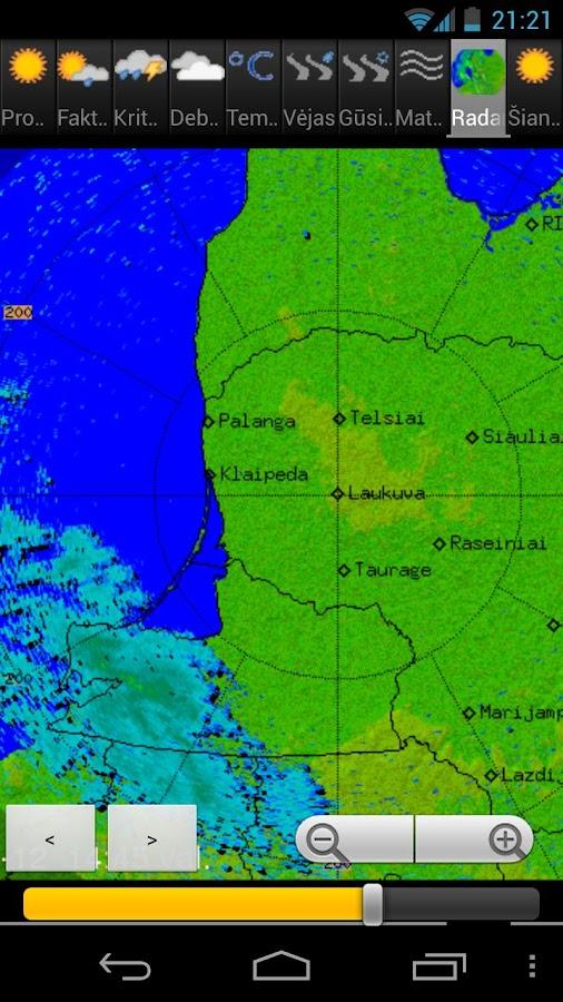 Orai Lietuvoje - screenshot