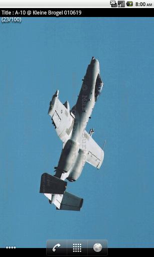 A-10 Live Wallpaper