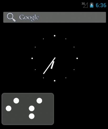 Binary clock of NyS
