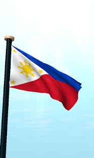 Philippines Flag 3D Wallpaper