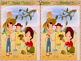 Screenshot of Differences Game