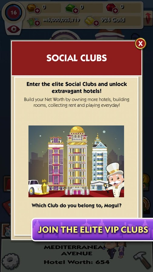 MONOPOLY Hotels - screenshot