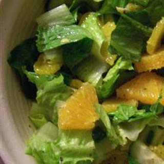 Orange Romaine Salad