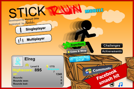 Stick Run Mobile Deluxe- screenshot thumbnail