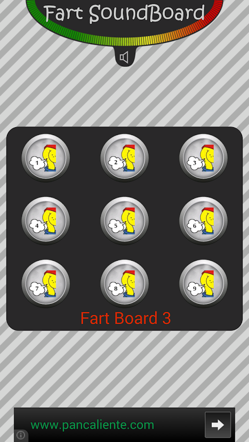 Fart soundboard Joke Sounds - screenshot