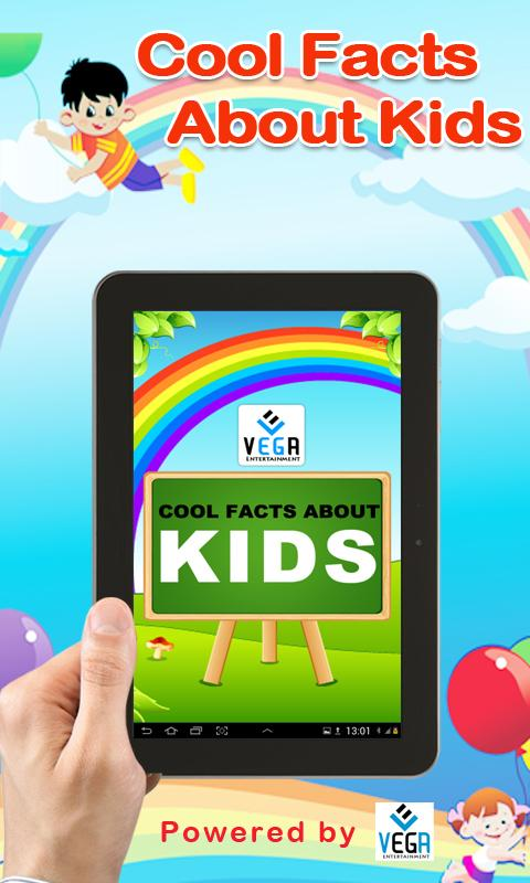 Cool Facts about Kids- screenshot