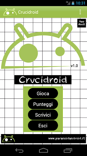Crucidroid italian crosswords