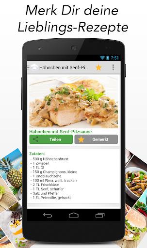 玩免費遊戲APP|下載Rezept des Tages Kochen app不用錢|硬是要APP
